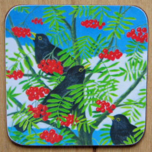 Blackbirds coaster