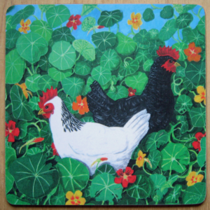 Chicken placemat