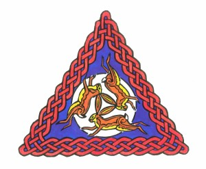 Celtic Knot Hares