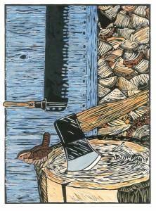 Woodblock Wren